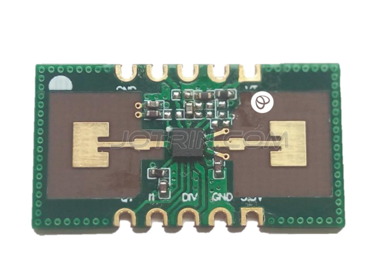 the Doppler radar sensor module