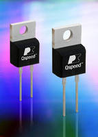 Silicon Diodes eliminate need for snubber capacitors.