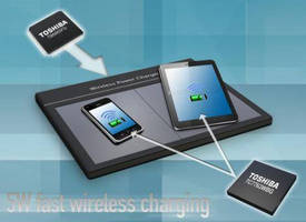 Transmitter-Receiver Chipset (5 W) accelerates wireless charging.