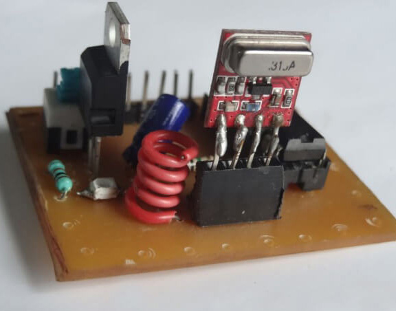 How to make an RF transmitter and receiver with HT12E and HT12D
